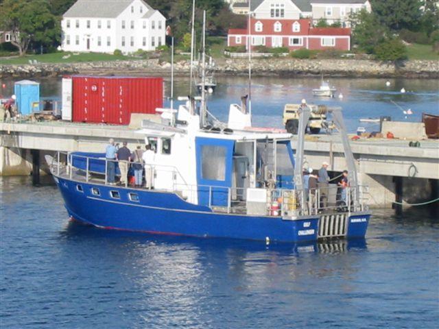 r/v gulf challenger docked