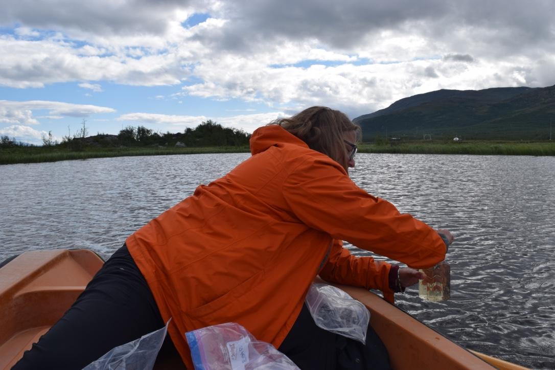 Arctic water sampling