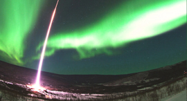 Arctic Aurora Horizon