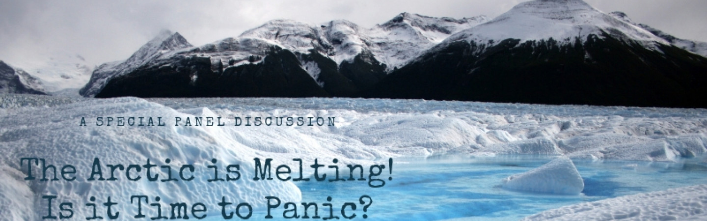 The Arctic is melting. Is it time to panic? poster