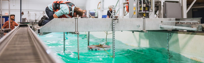 Ocean Engineering wave tank