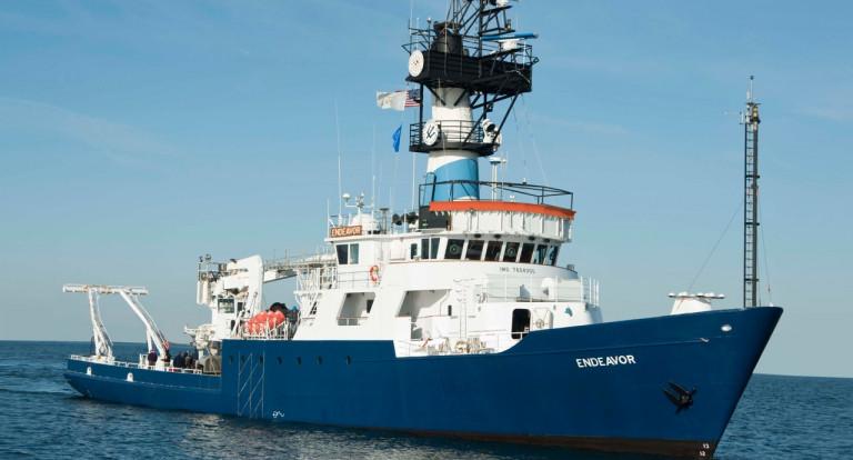 Endeavor research  vessel
