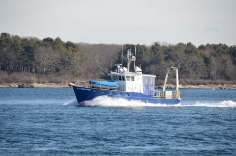The R/V Gulf Challenger - The flag ship of UNH's Marine Program.