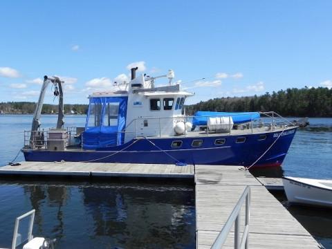 R/V Gulf Challenger dockside