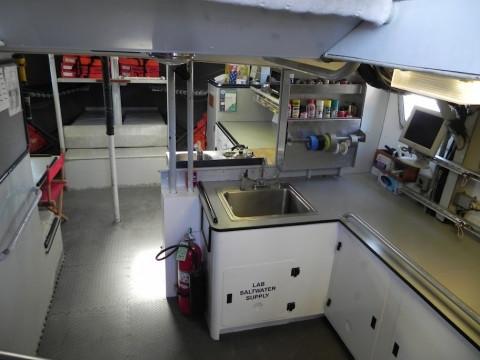 R/V Gulf Challenger Below Deck
