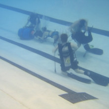 Diving students in the UNH pool - 2