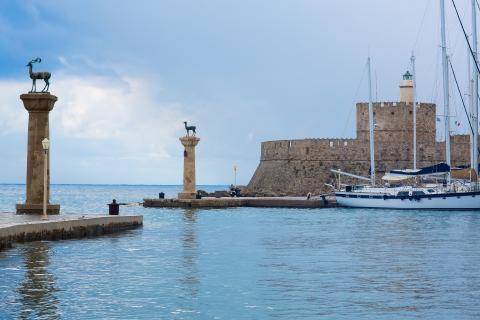 Rhodes Greece Fortress